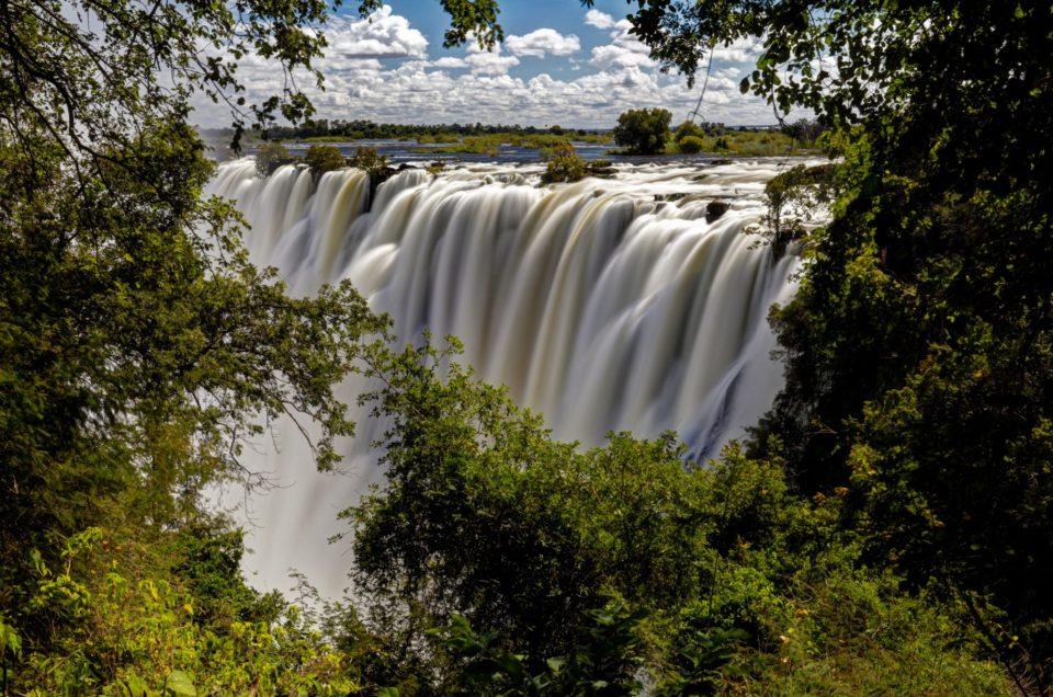 Les chutes du Zambèze ou Victoria Falls